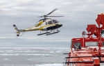 Ross Sea Helicopter flight