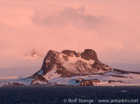 Evening light, South Shetland Islands