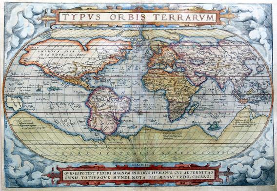 Ortelius-Weltkarte