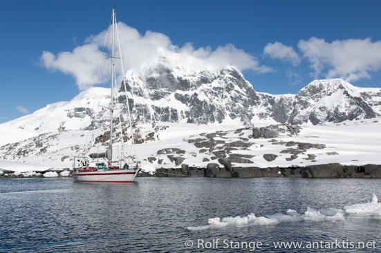 Segelyacht SY Pelagic, Port Lockroy
