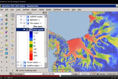 Quantarctica (Screenshot)