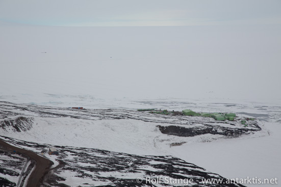 Observation Hill, McMurdo Sound, Ross Sea, Antarctica