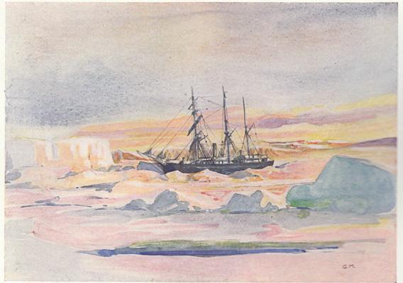 Die Nimrod im Eis