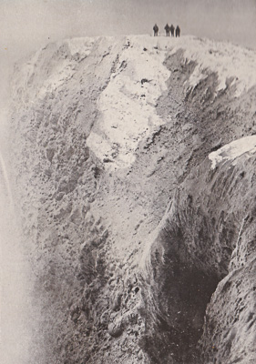 Gipfelkrater Mount Erebus
