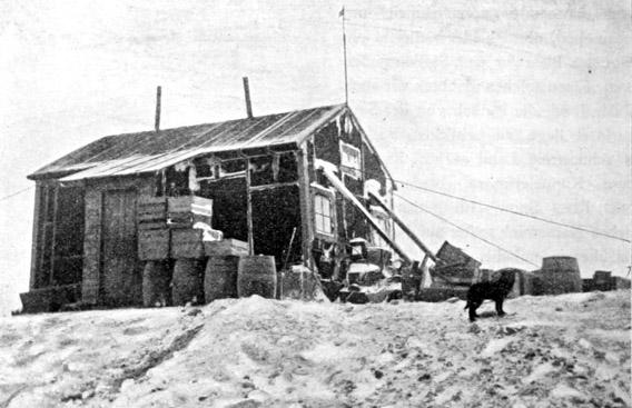 Nordenskjölds Haus auf Snow Hill Island