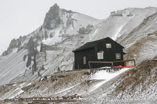 Nordenskjölds Haus auf Snow Hill Island (2006)