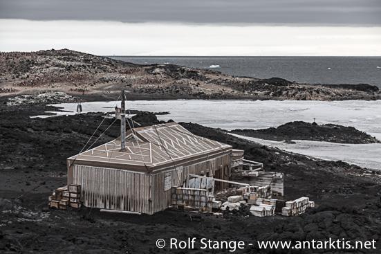 Shackletons Hütte, Kap Royds
