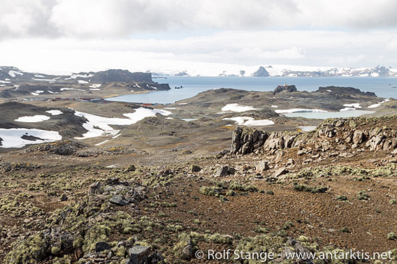 Fildes Peninsula, Süd Shetland Inseln