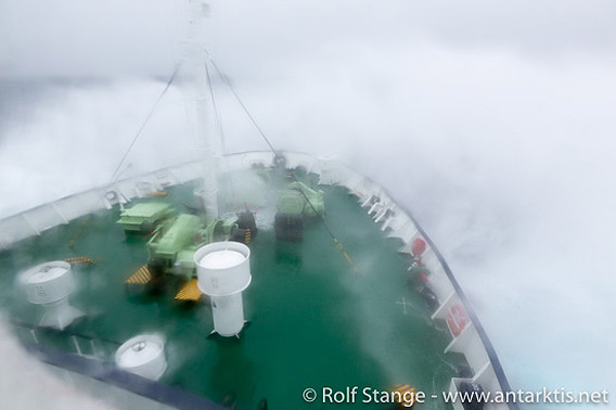 Wind und Seegang, Drake-Passage