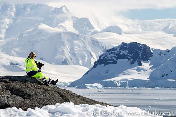 Antarktis-Landschaft: Paradise Harbor