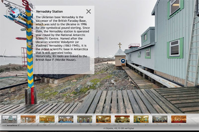 Vernadsky Station virtuelle Tour