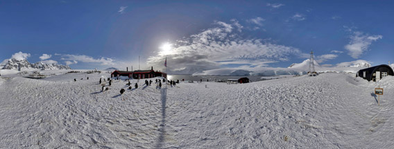 Antarktis-Panoramen - 360°-Panoramen