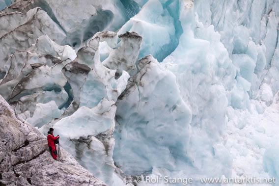 Gletscherarm der Cordillera Darwin