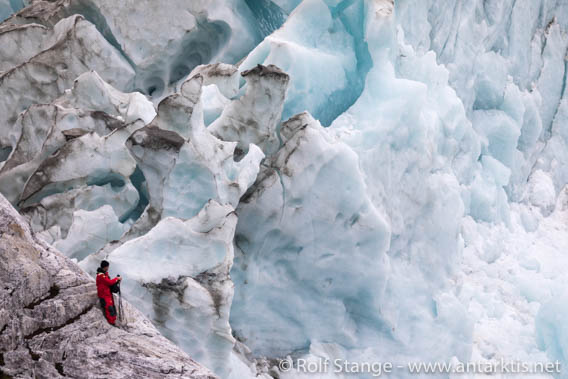Glacier, Cordillera Darwin